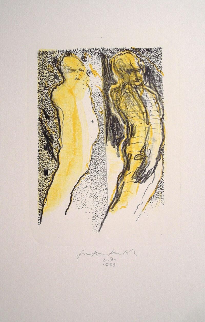 """Abbildung 1: """"Zwei Figuren"""" von Franz-Anatol Wyss"""