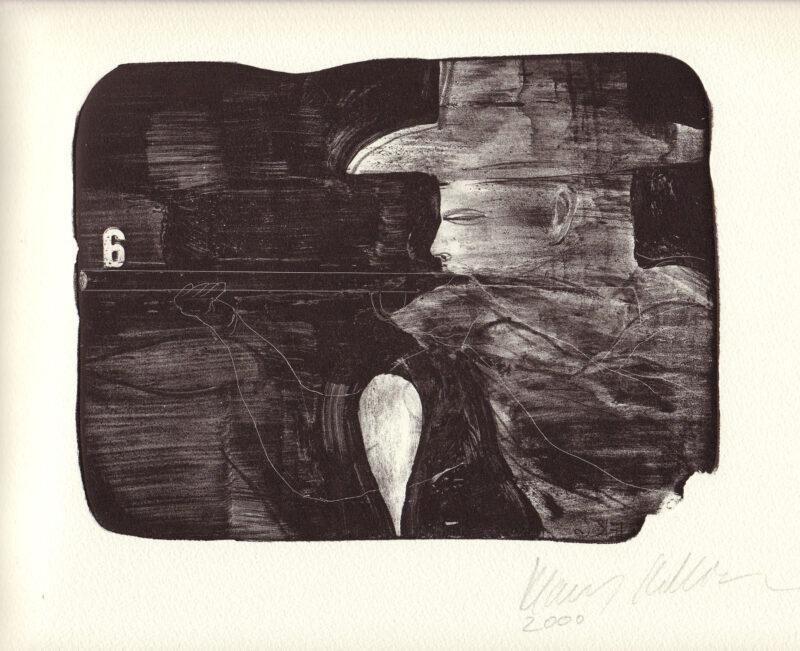"""Abbildung 1: """"(Schütze seitlich)"""" von Klaus Killisch"""