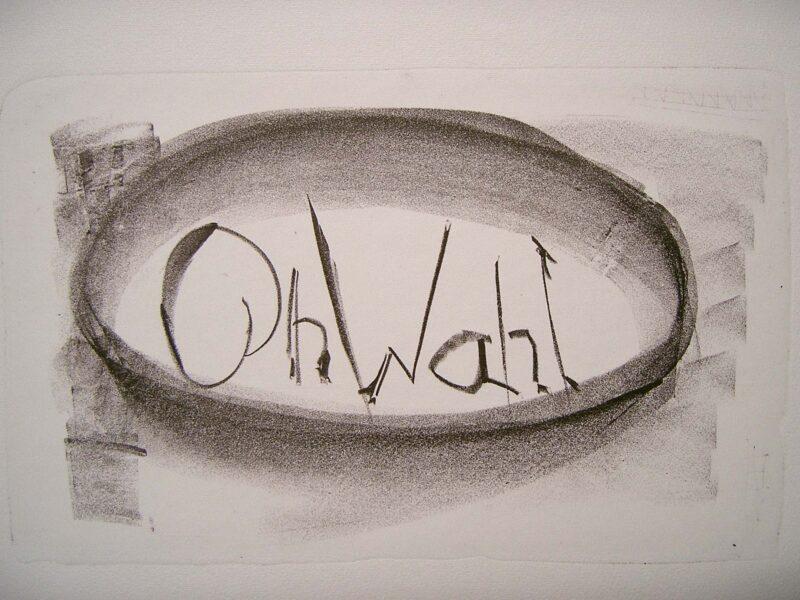 """Abbildung 1: """"OhWahl"""" von Peter Dettmann"""