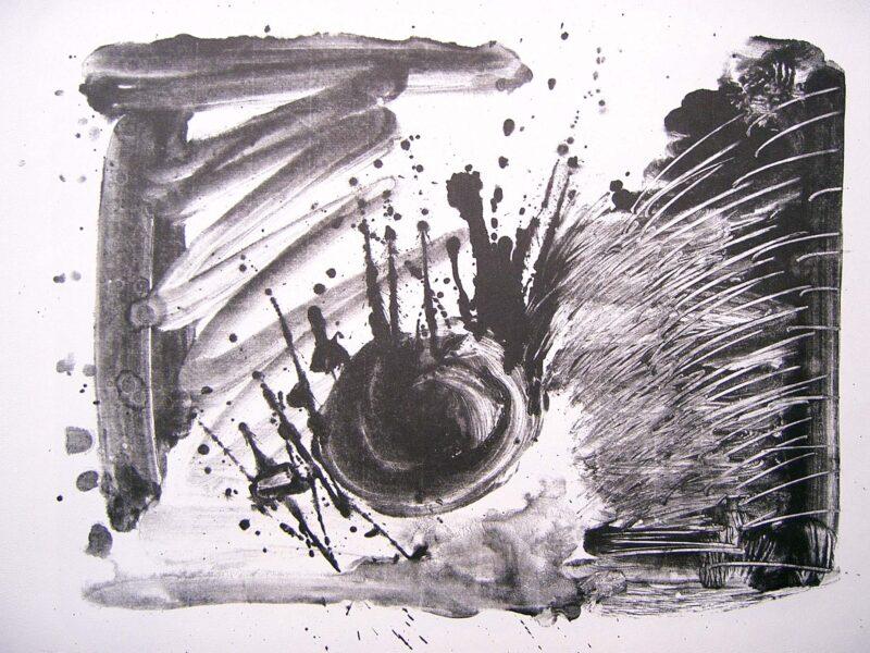 """Abbildung 1: """"Eintritt vor Aufschlag"""" von Peter Dettmann"""
