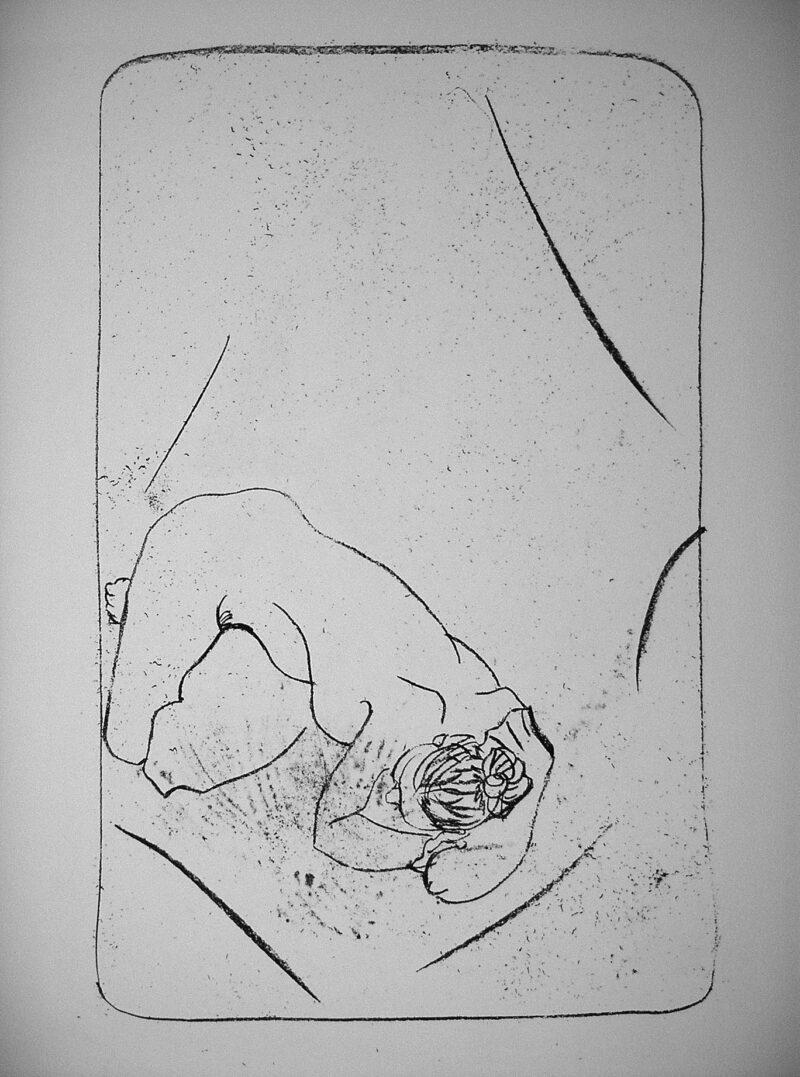 """Abbildung 1: """"Kauernde"""" von Christel Trage"""