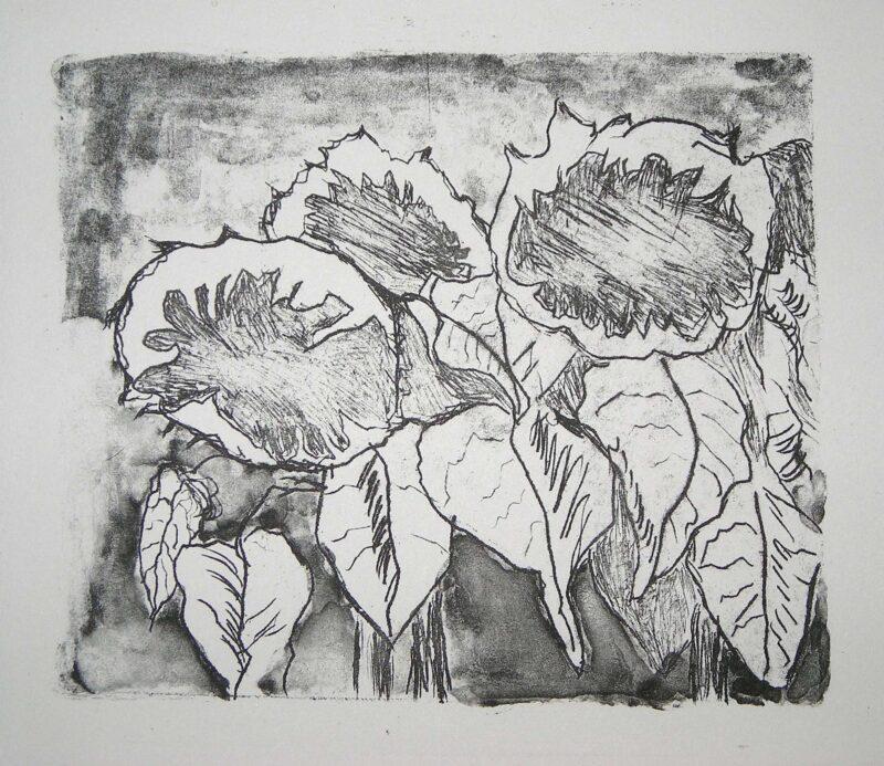 """Abbildung 1: """"Sonnenblumen"""" von Volker Scharnefsky"""