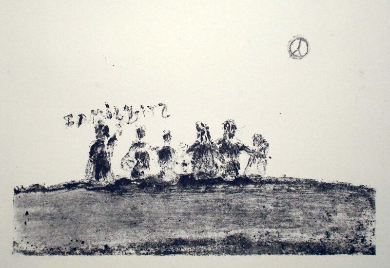 """Abbildung 1: """"Familienaufstellung"""" von Werner Peters"""