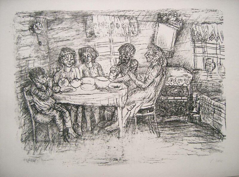 """Abbildung von """"Russische Bauernfamilie I"""""""