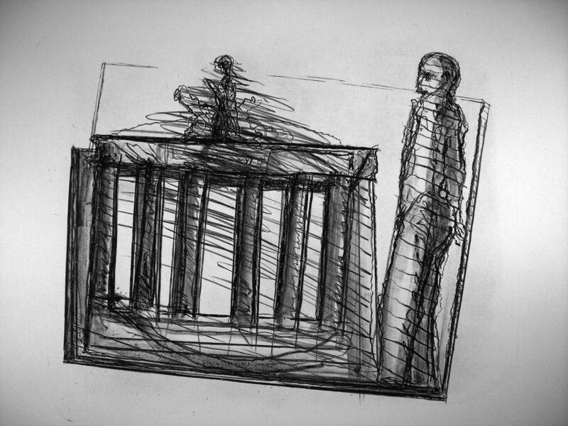 """Abbildung 1: """"Das Tor"""" von Franz-Anatol Wyss"""