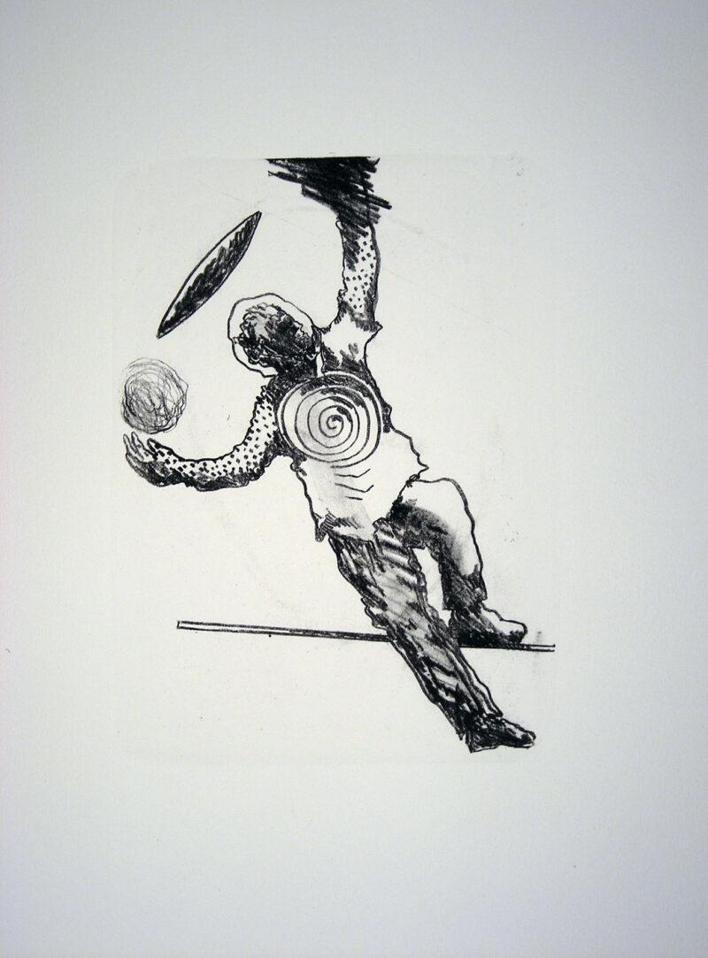 """Abbildung 1: """"Der Mensch bewegt sich IX"""" von Franz-Anatol Wyss"""
