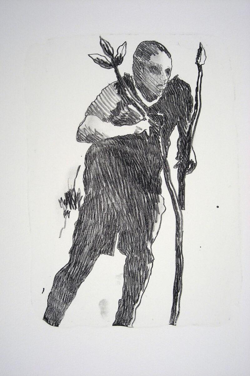 """Abbildung 1: """"Der Mensch bewegt sich (7)"""" von Franz-Anatol Wyss"""