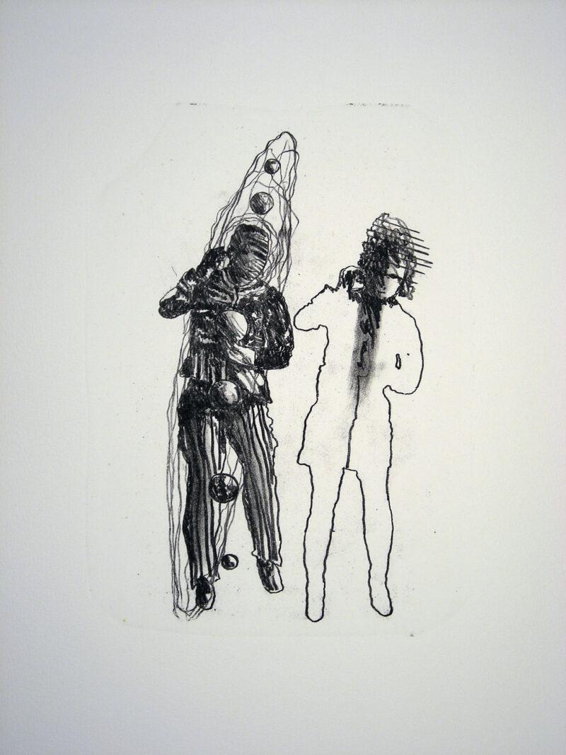 """Abbildung 1: """"Der Mensch bewegt sich (10)"""" von Franz-Anatol Wyss"""