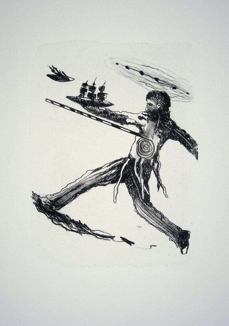 """Abbildung 1: """"Der Mensch bewegt sich XI"""" von Franz-Anatol Wyss"""