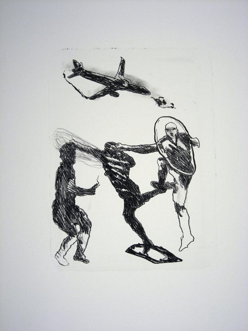"""Abbildung 1: """"Der Mensch bewegt sich (12)"""" von Franz-Anatol Wyss"""