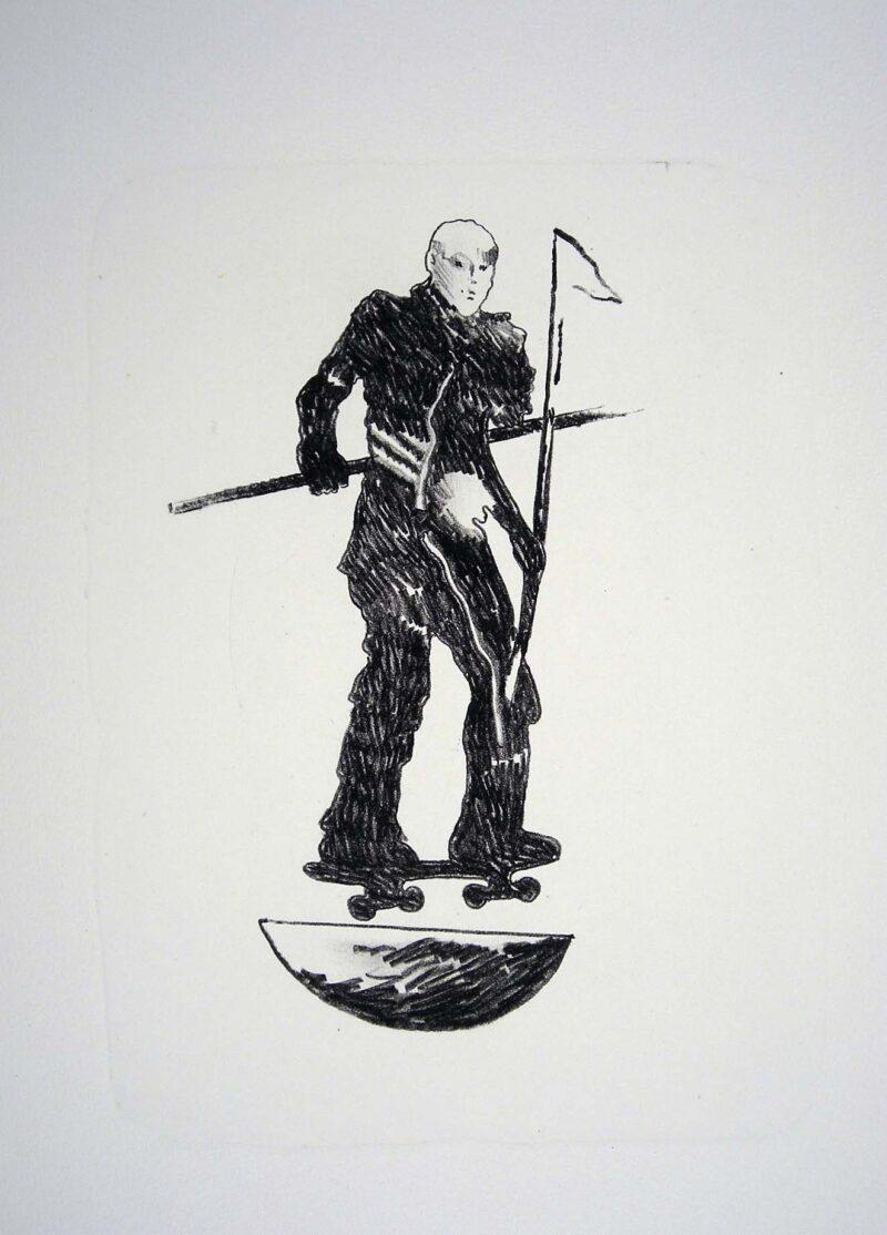 """Abbildung 1: """"Der Mensch bewegt sich (1)"""" von Franz-Anatol Wyss"""