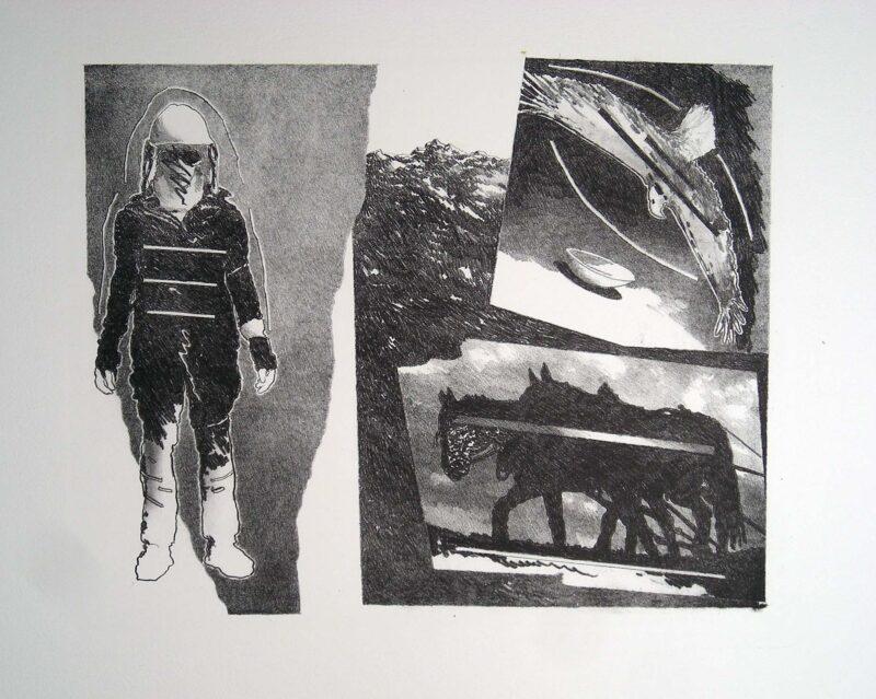 """Abbildung 1: """"(Bauer)"""" von Franz-Anatol Wyss"""