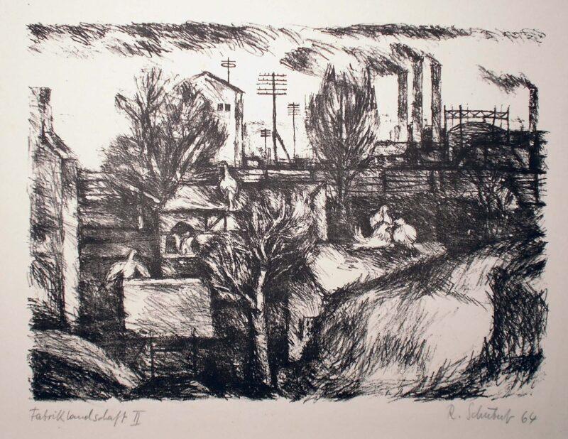 """Abbildung von """"Fabriklandschaft II"""""""