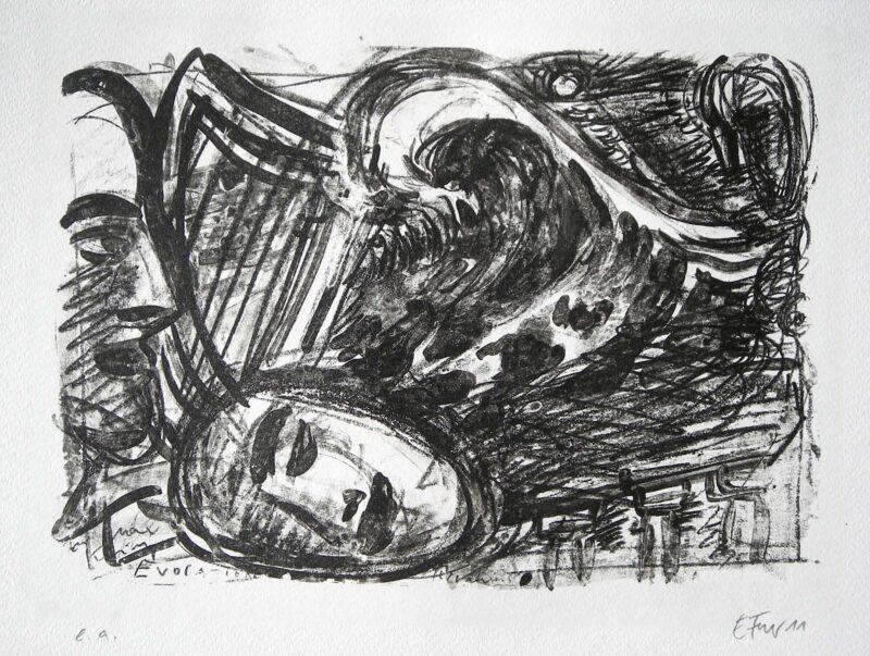 """Abbildung 1: """"Meerstück VIII"""" von Ellen Fuhr"""