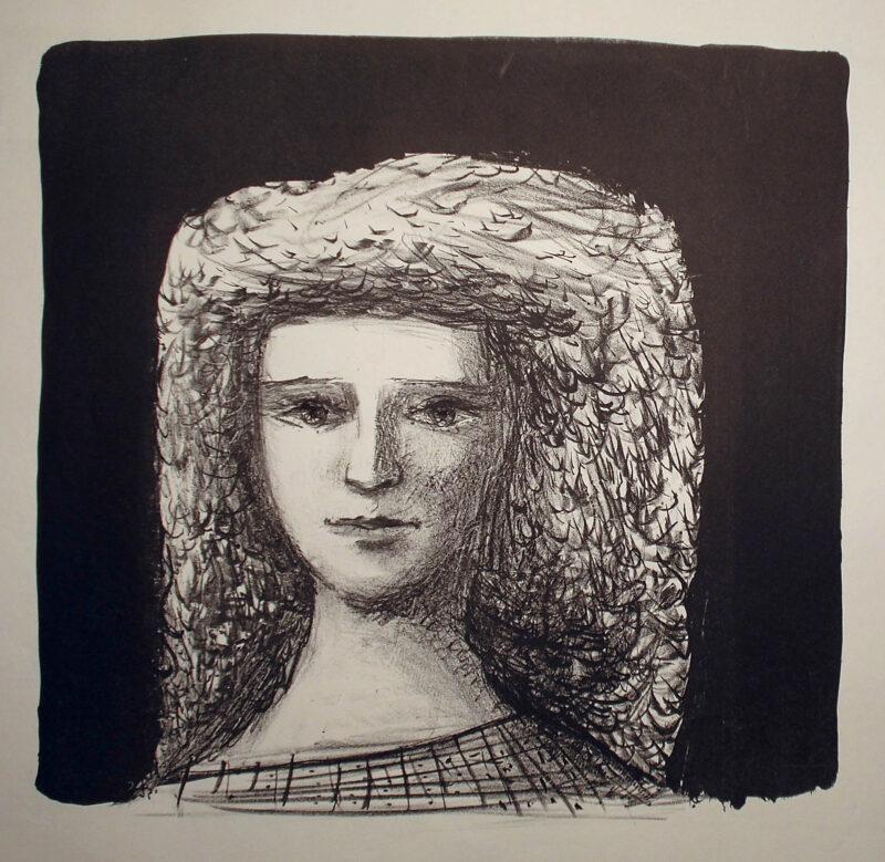 """Abbildung von """"Mädchenkopf I"""""""