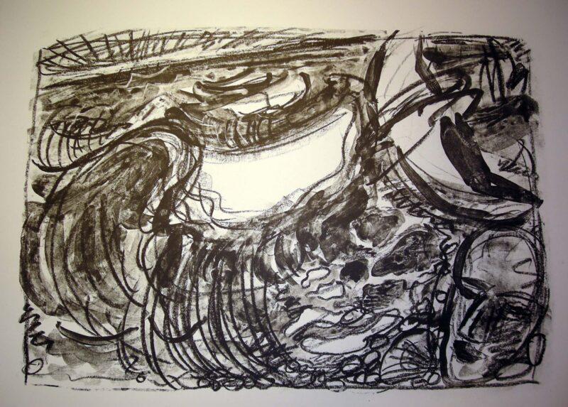"""Abbildung 1: """"Meerstück V"""" von Ellen Fuhr"""