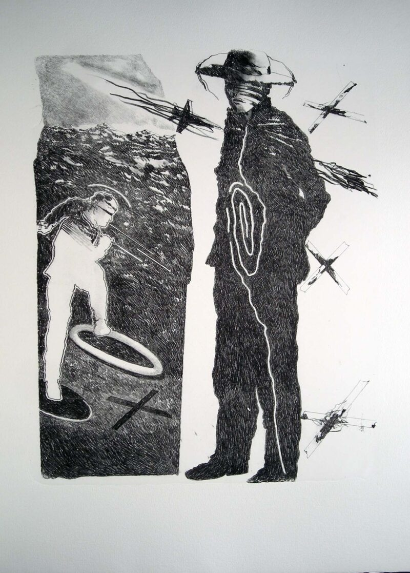 """Abbildung 1: """"(Stehender und Trampelnder)"""" von Franz-Anatol Wyss"""