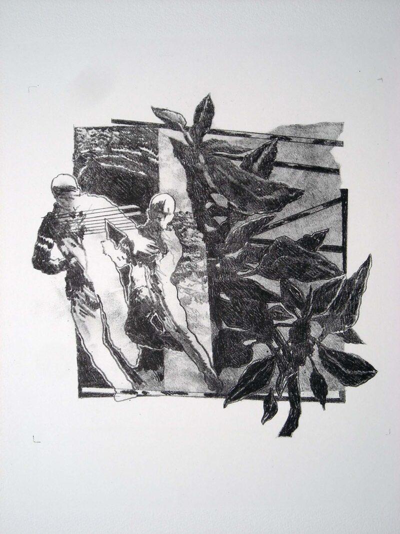 """Abbildung 1: """"Flucht"""" von Franz-Anatol Wyss"""