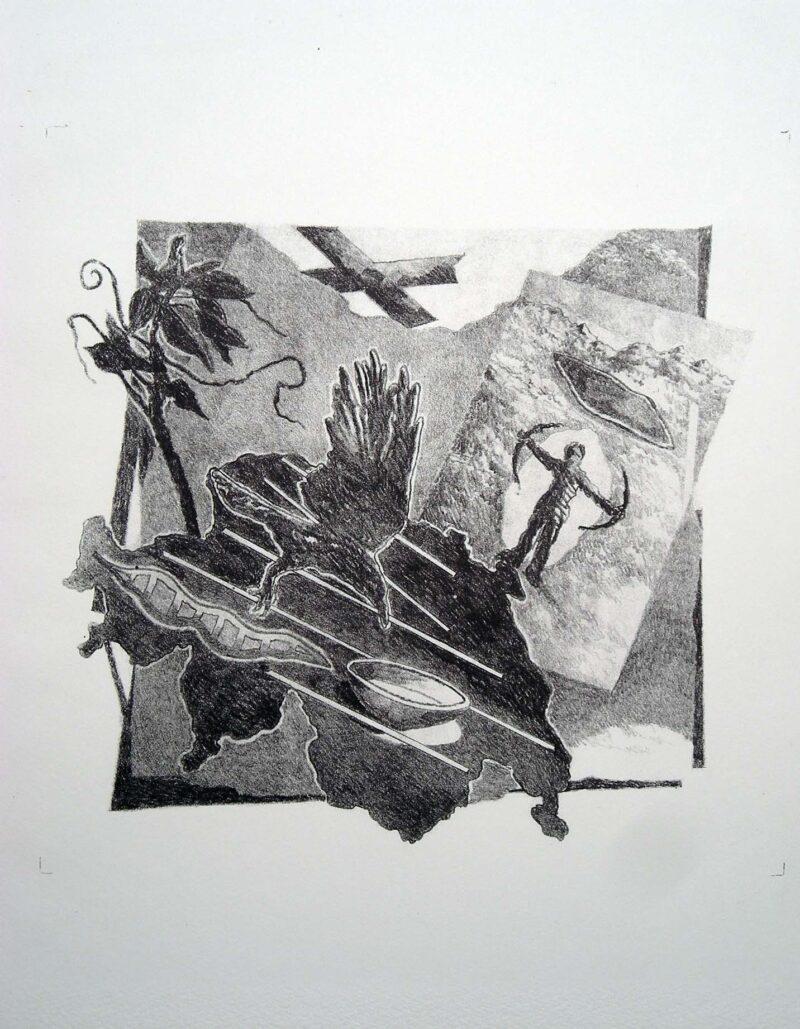 """Abbildung 1: """"Grenze"""" von Franz-Anatol Wyss"""