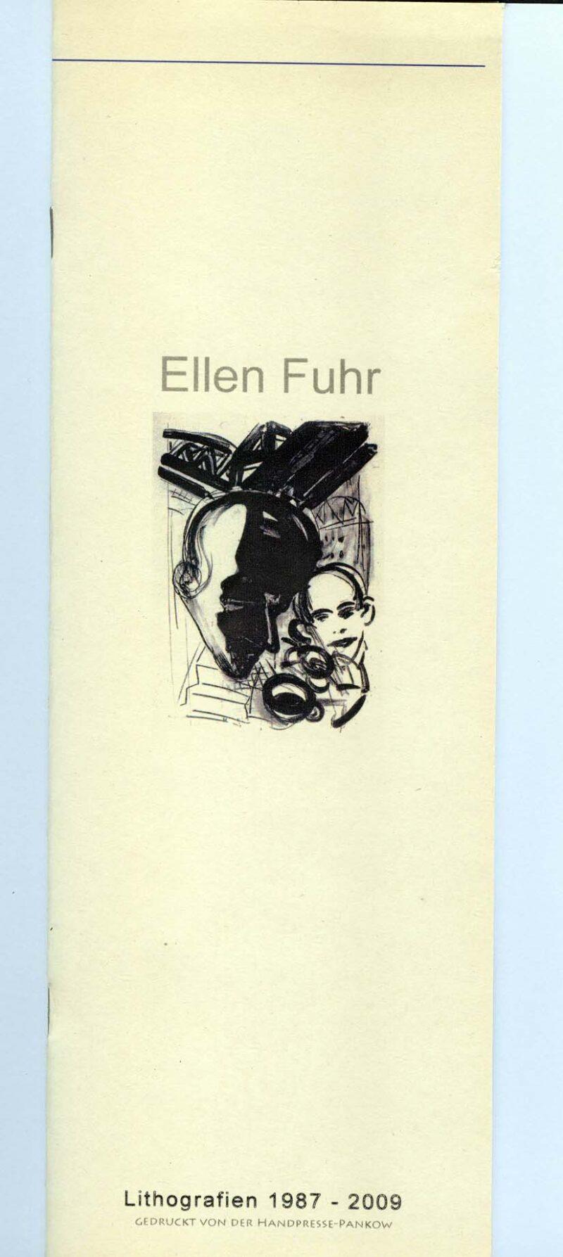 """Abbildung von """"Ellen Fuhr Lithografien 1987-2009"""""""