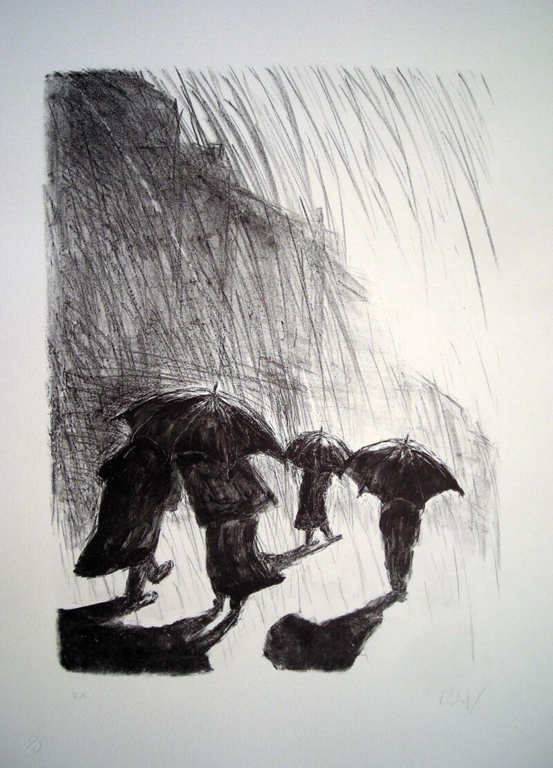 """Abbildung 1: """"Begegnung"""" von Volker Scharnefsky"""