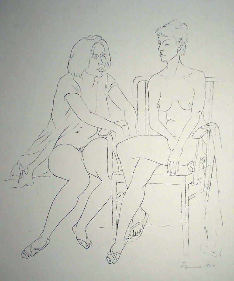 """Abbildung von """"Frauen und Mädchen, Blatt 7"""""""