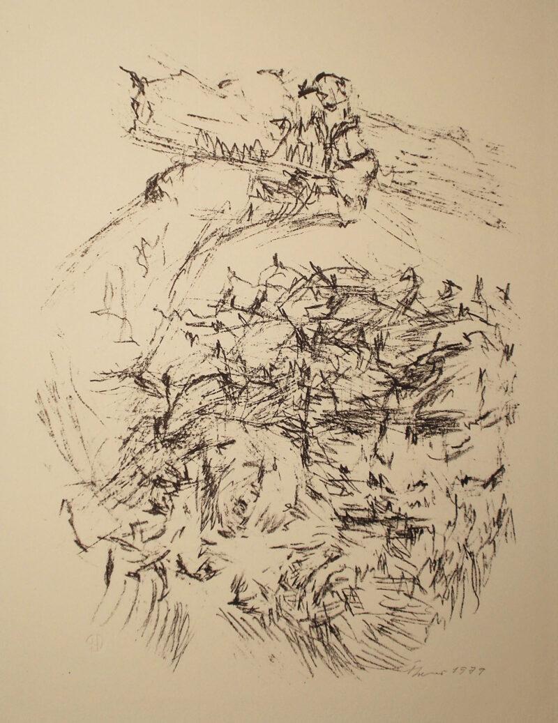 """Abbildung 1: """"zu Majakowskis Poem: Wolke in Hosen"""" von Fritz Cremer"""