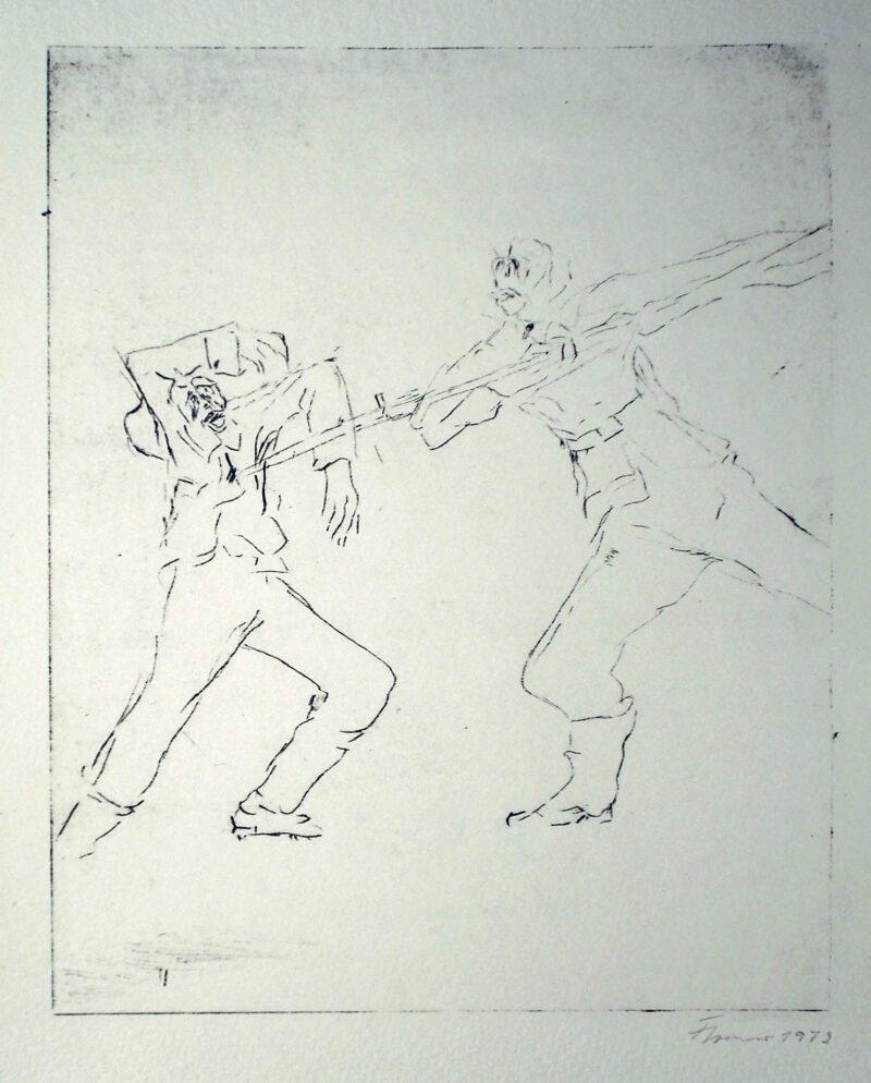 """Abbildung 1: """"Erinnerung III (Detail)"""" von Fritz Cremer"""