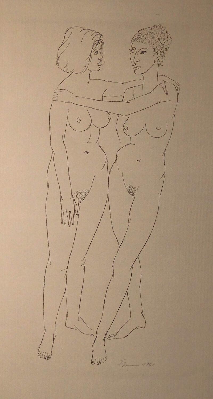 """Abbildung 1: """"Frauen und Mädchen, Blatt 5"""" von Fritz Cremer"""