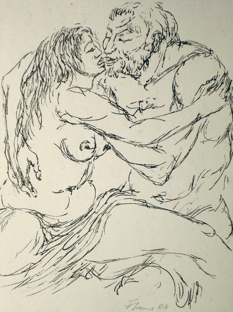 """Abbildung 1: """"Liebespaar"""" von Fritz Cremer"""