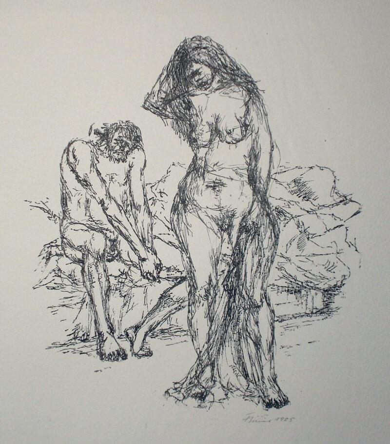 """Abbildung von """"Alt-Träume, Blatt 4"""""""
