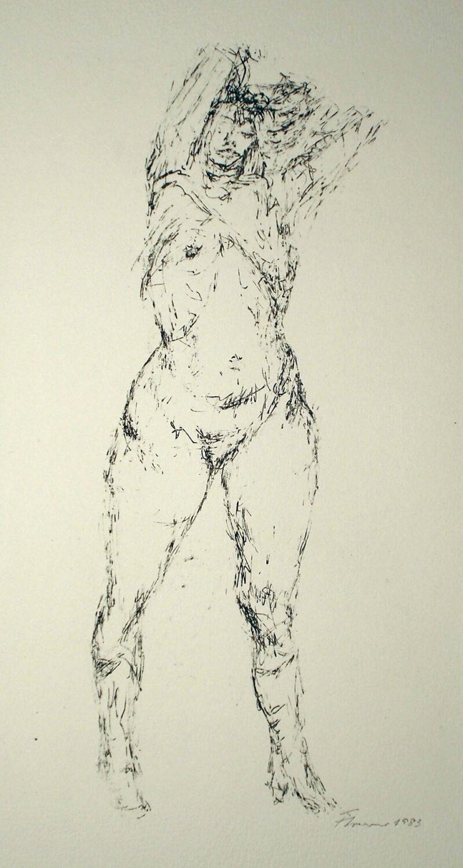 """Abbildung 1: """"Stehender weiblicher Akt"""" von Fritz Cremer"""