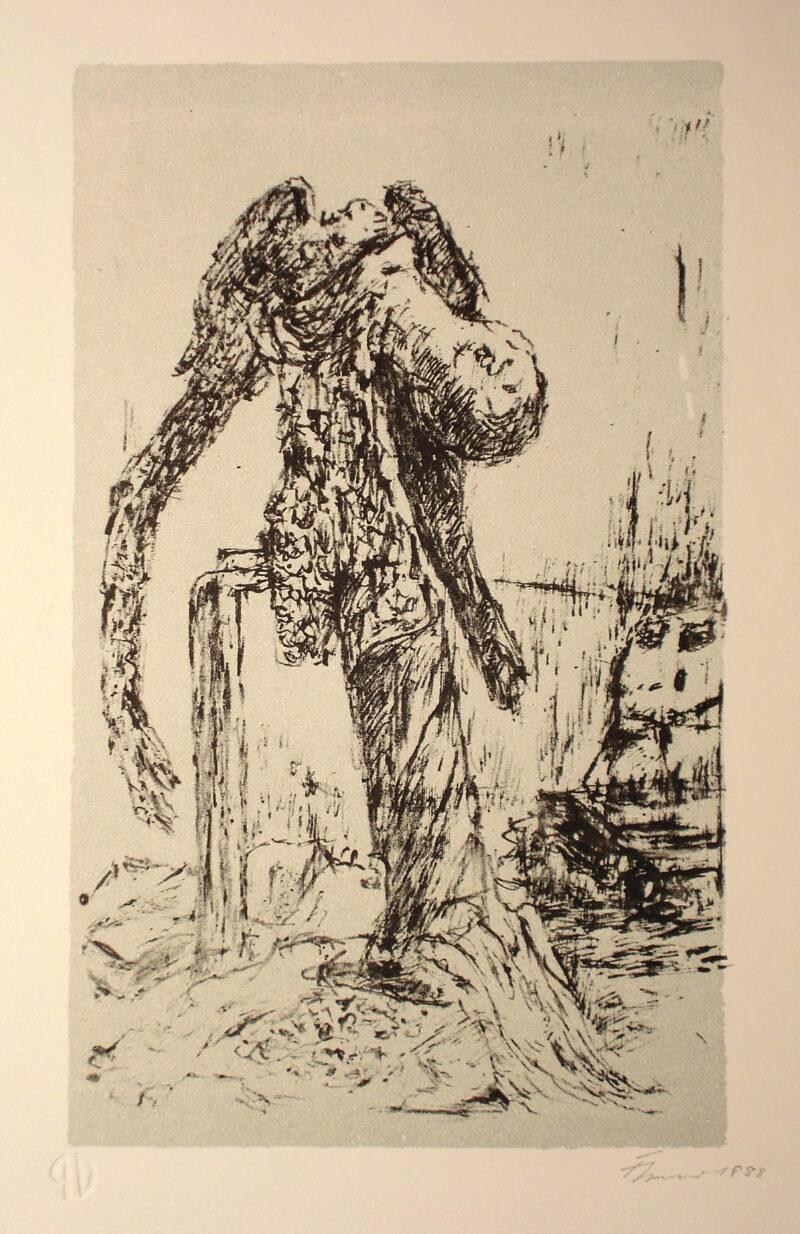 """Abbildung 1: """"Kleine Katastrophe im Atelier"""" von Fritz Cremer"""