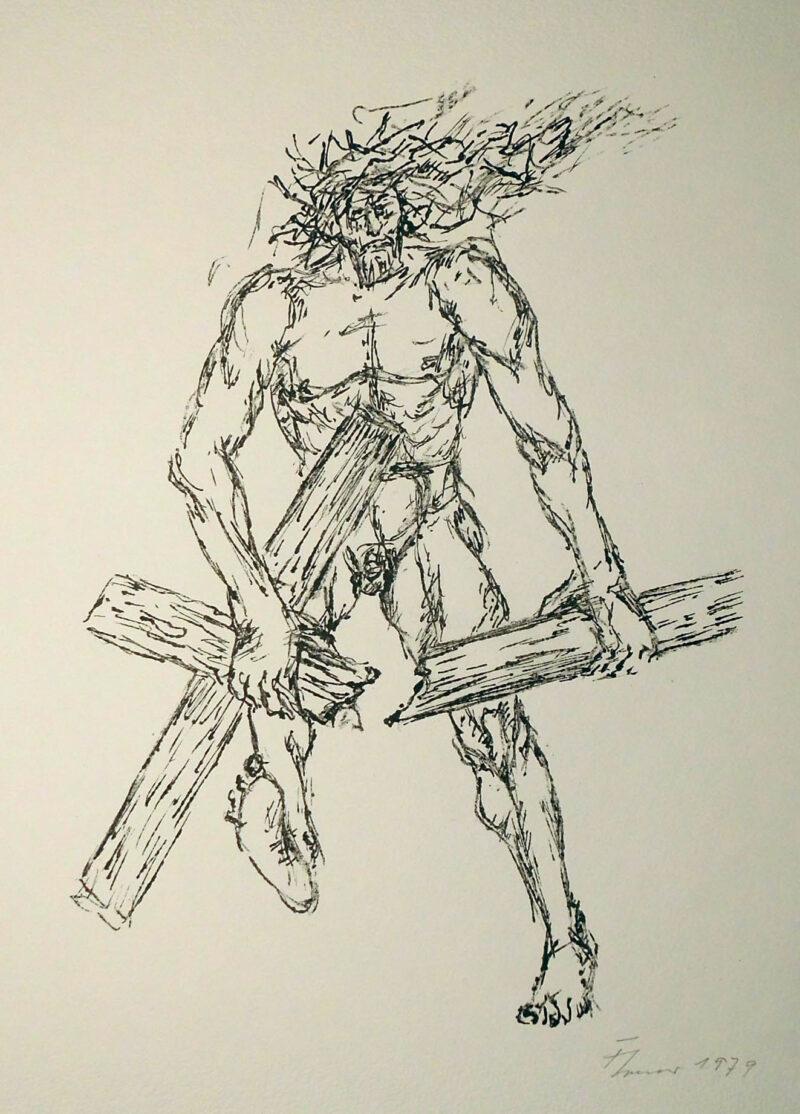 """Abbildung von """"Christus zerbricht das Kreuz!"""""""