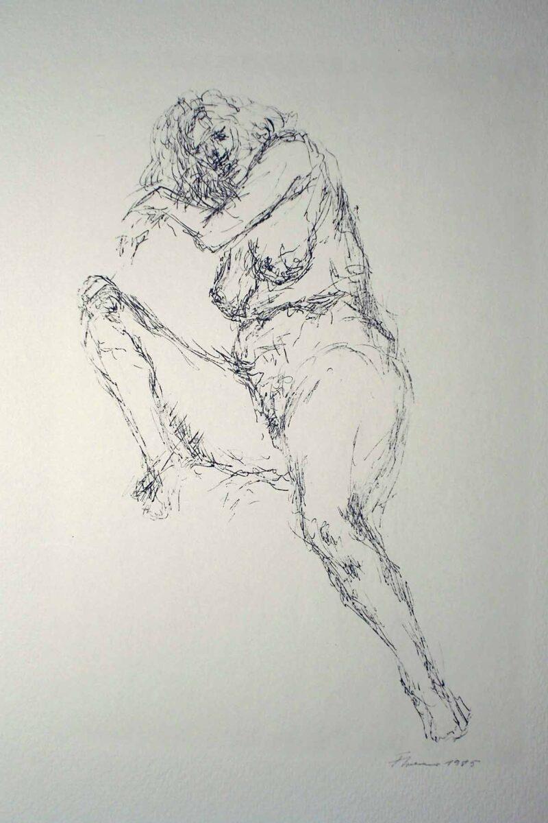 """Abbildung 1: """"Weiblicher Akt"""" von Fritz Cremer"""