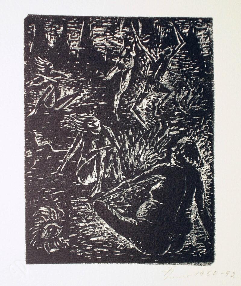 """Abbildung 1: """"Hexentanzplatz I"""" von Fritz Cremer"""