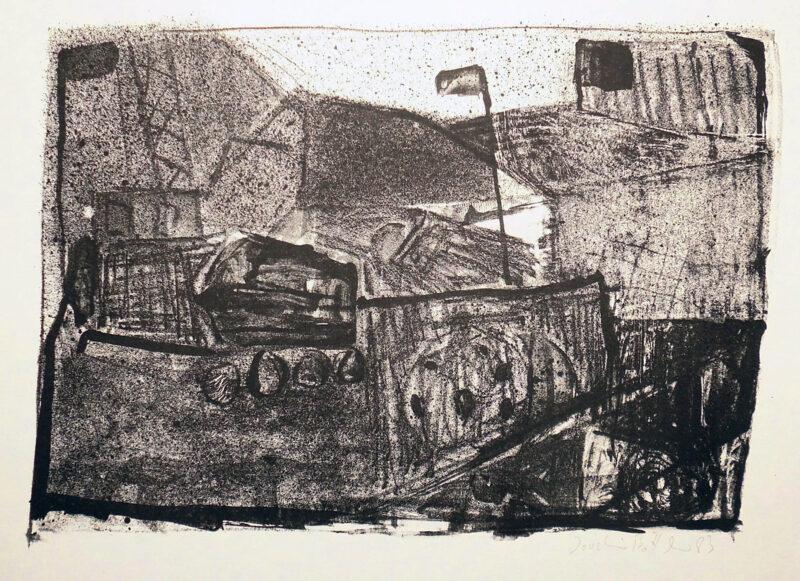 """Abbildung 1: """"Im Steinbruch"""" von Joachim Böttcher"""