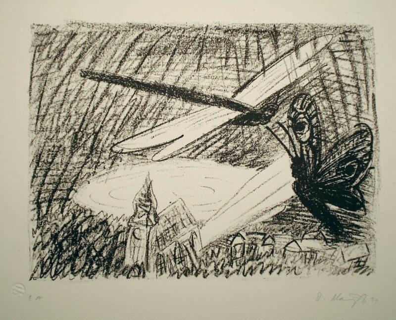 "Abbildung 1: ""Libelle & Falter"" von Oskar Manigk"