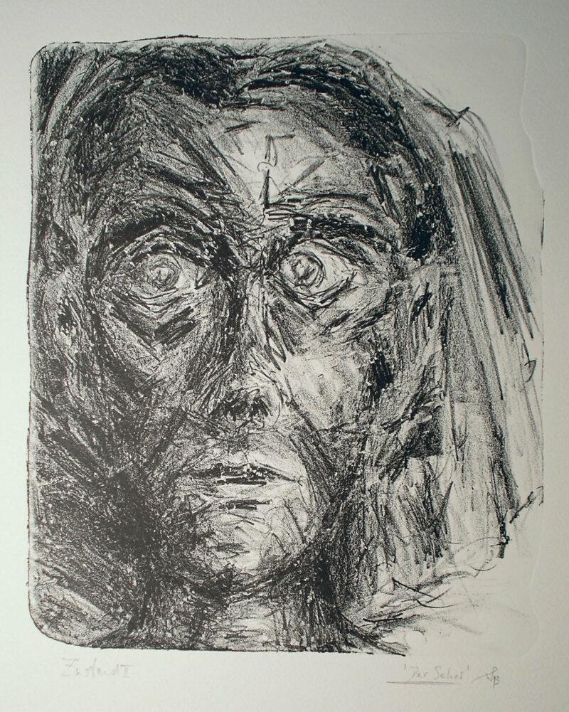 """Abbildung 1: """"Der Seher II"""" von Werner Peters"""