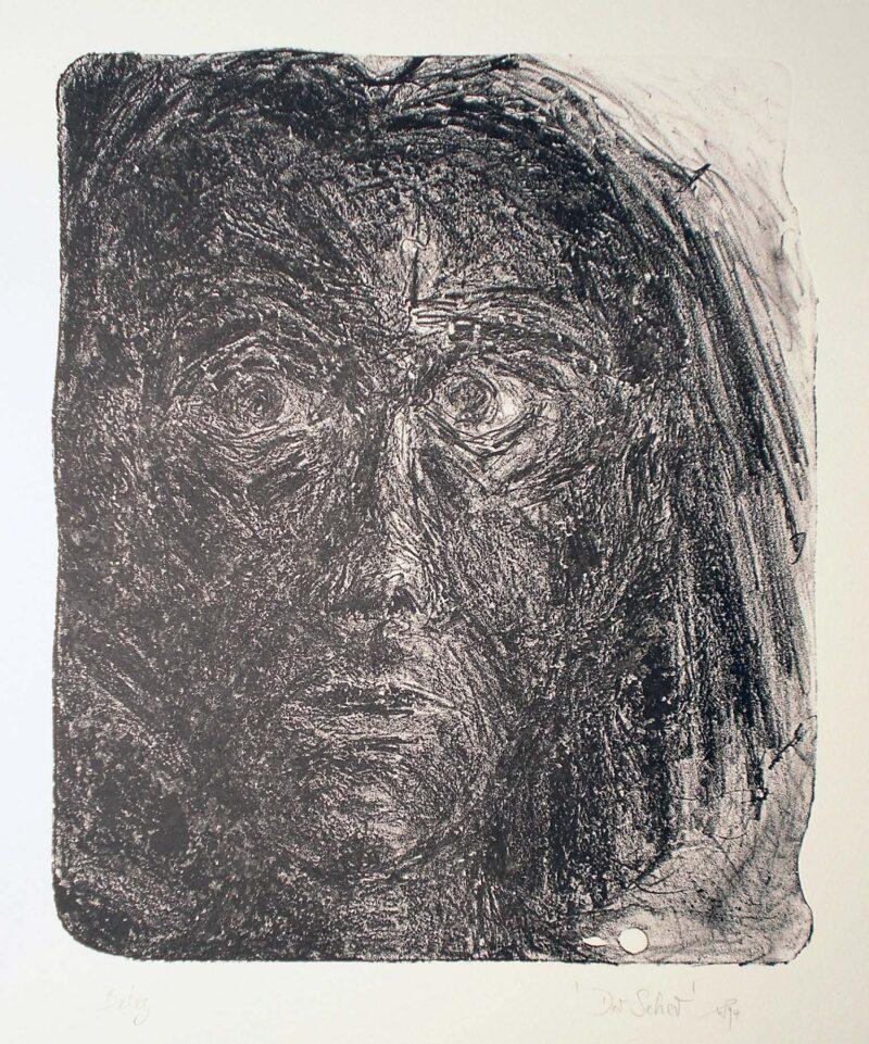 """Abbildung 1: """"Der Seher III"""" von Werner Peters"""