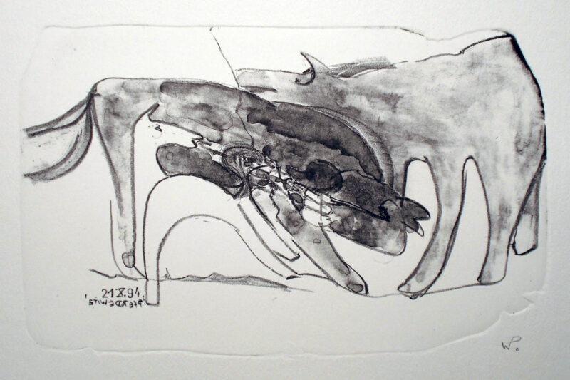 """Abbildung 1: """"Pferdewitz"""" von Werner Peters"""