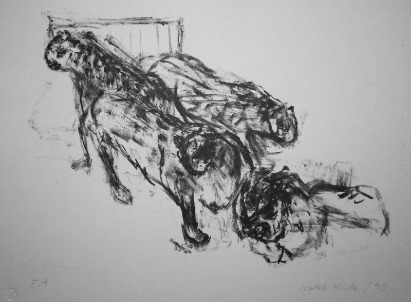 """Abbildung 1: """"Löwen I"""" von Isolde Hirte"""