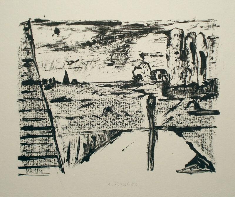 """Abbildung von """"Kleine Landschaft"""""""