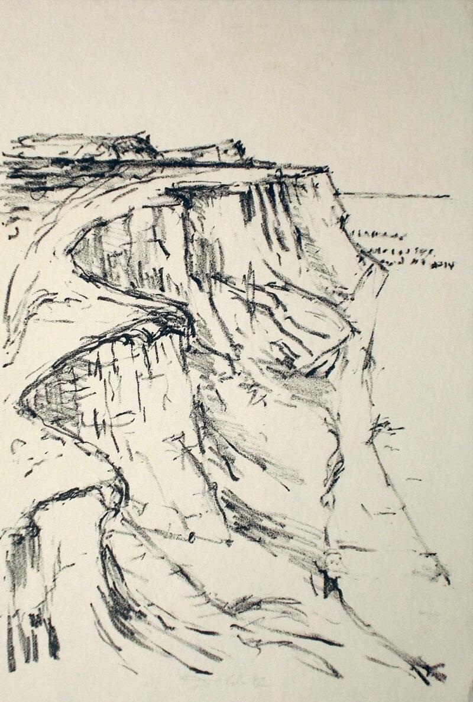 """Abbildung von """"Steilküste"""""""