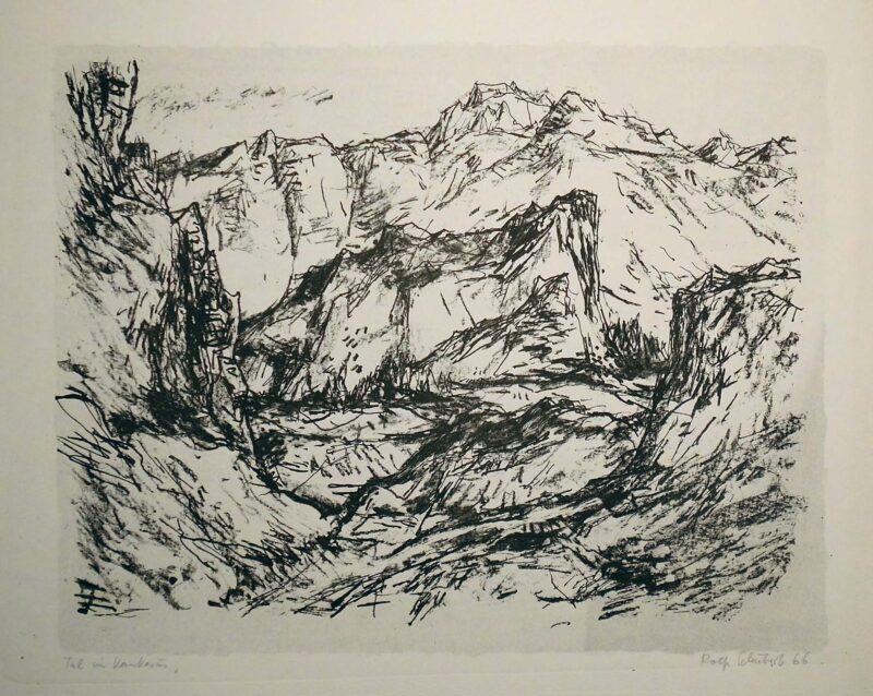 """Abbildung von """"Tal im Kaukasus"""""""
