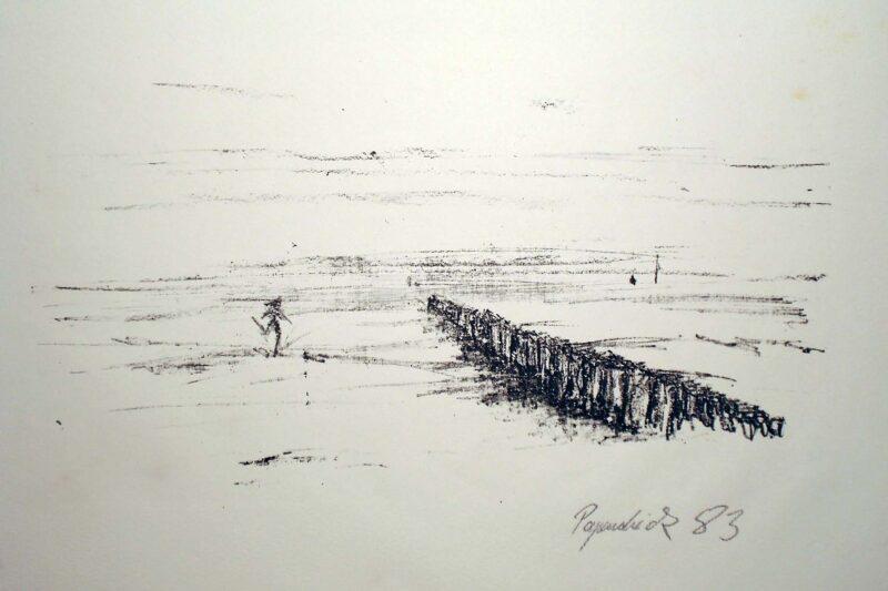 "Abbildung 1: ""Meer  I"" von Uwe Papendieck"