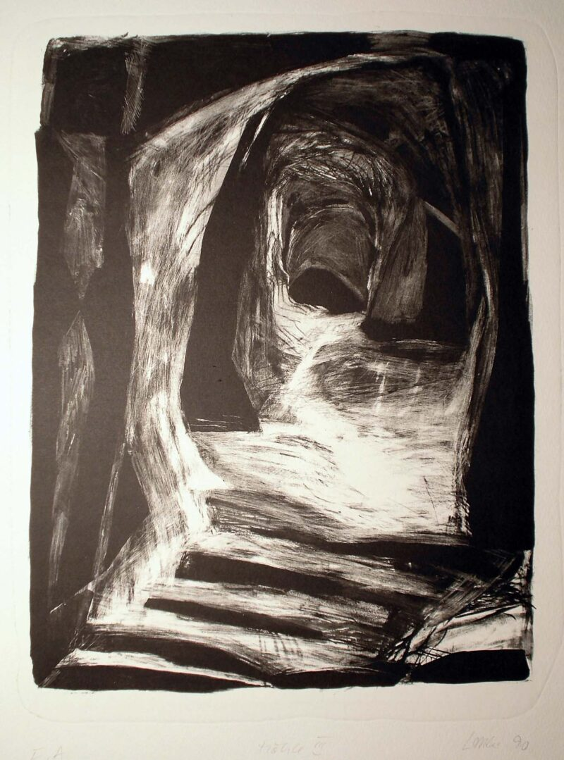 """Abbildung von """"Höhle III"""""""