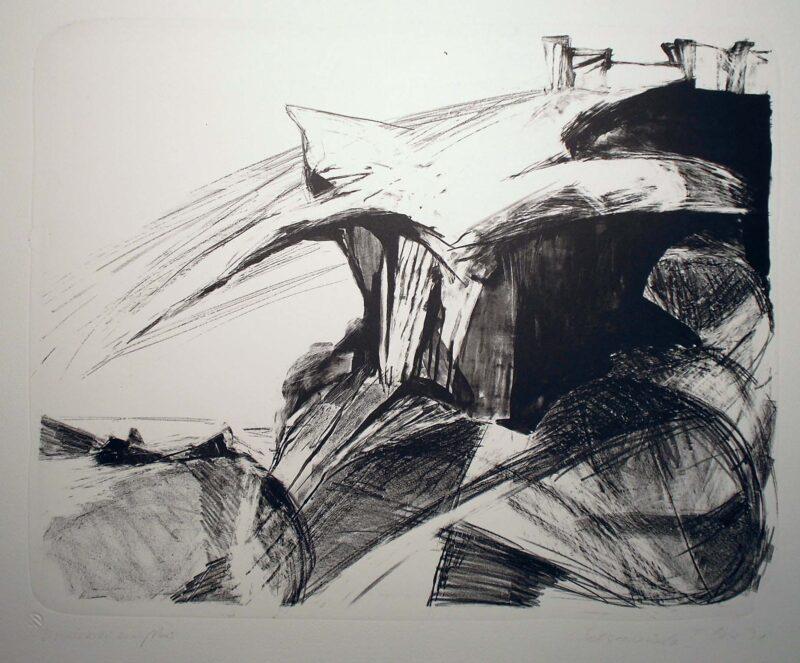 "Abbildung von ""Felsenküste I"""