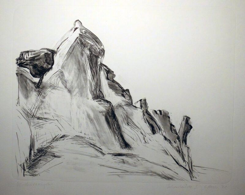 """Abbildung von """"Felsenküste II"""""""