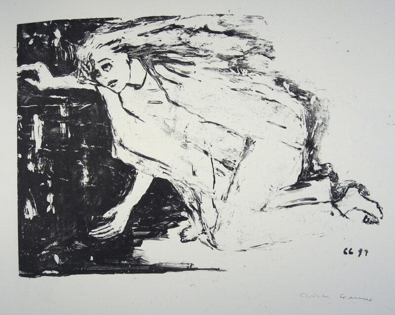 """Abbildung 1: """"Mein Engel hat keine Flügel"""" von Christa Cremer"""